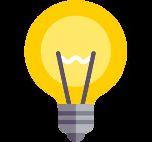 icone-d-ampoule-digital4all-agence-digitale-digitale-authentique-pour-pme-et-tpe