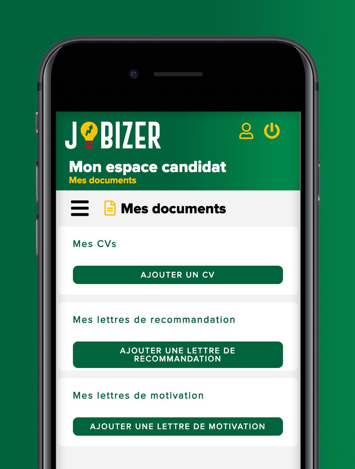 Jobizer-app-mobile-realise