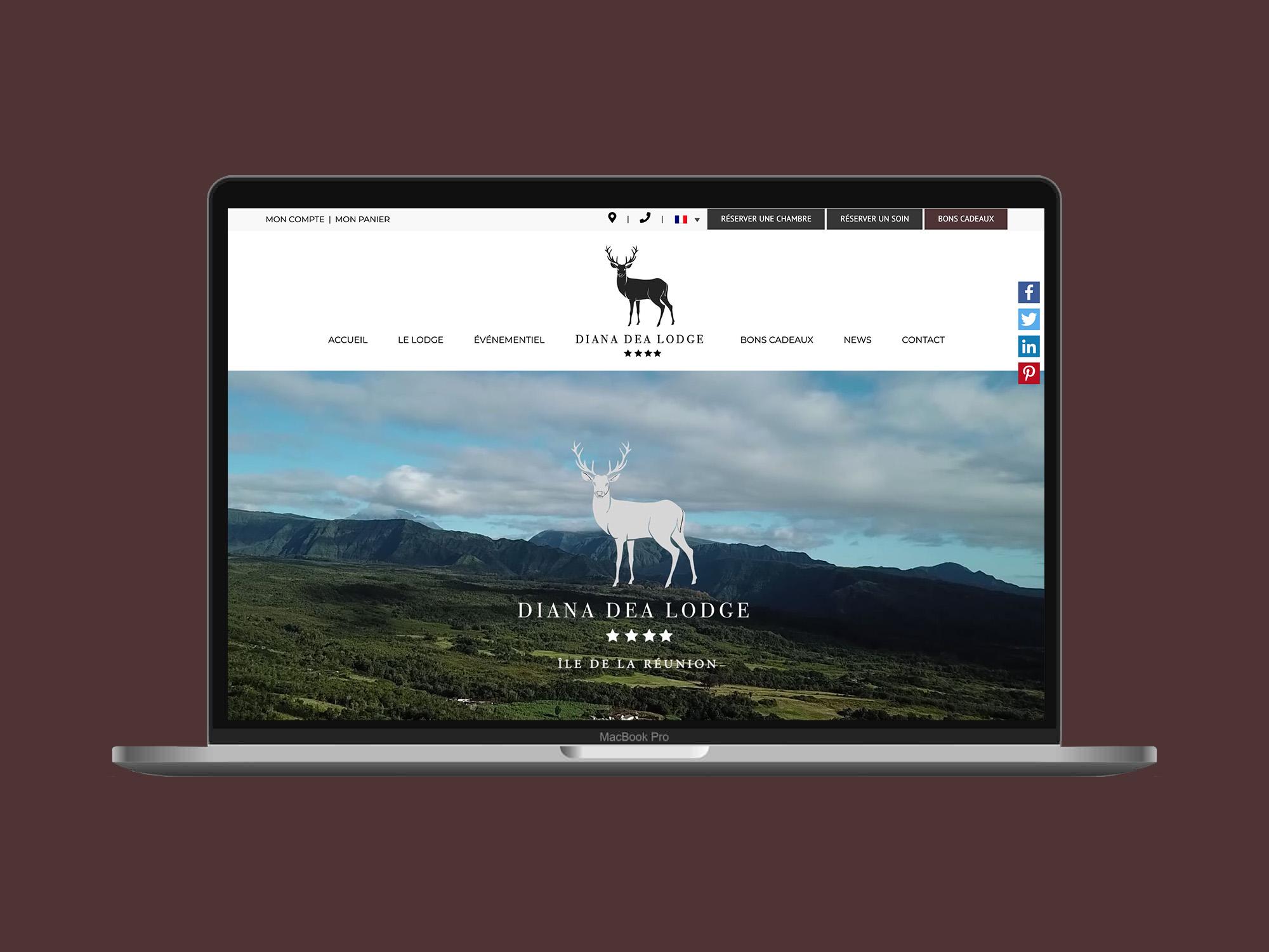 Nouveau site web du Diana Dea Lodge