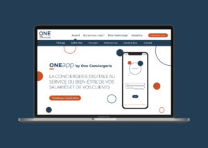 Nouveau site web de One Conciergerie