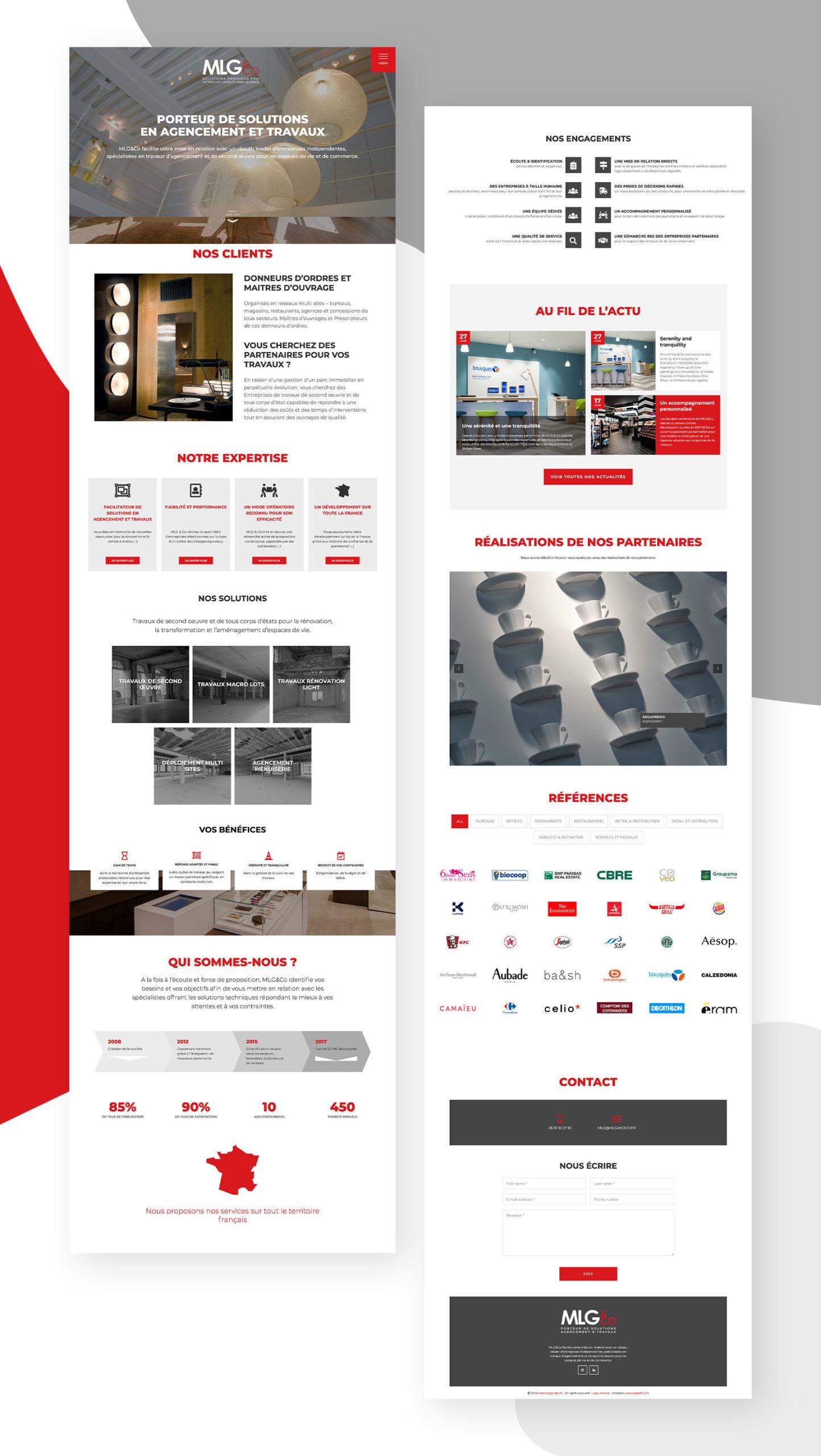 Nouveau site web de MLG & Co