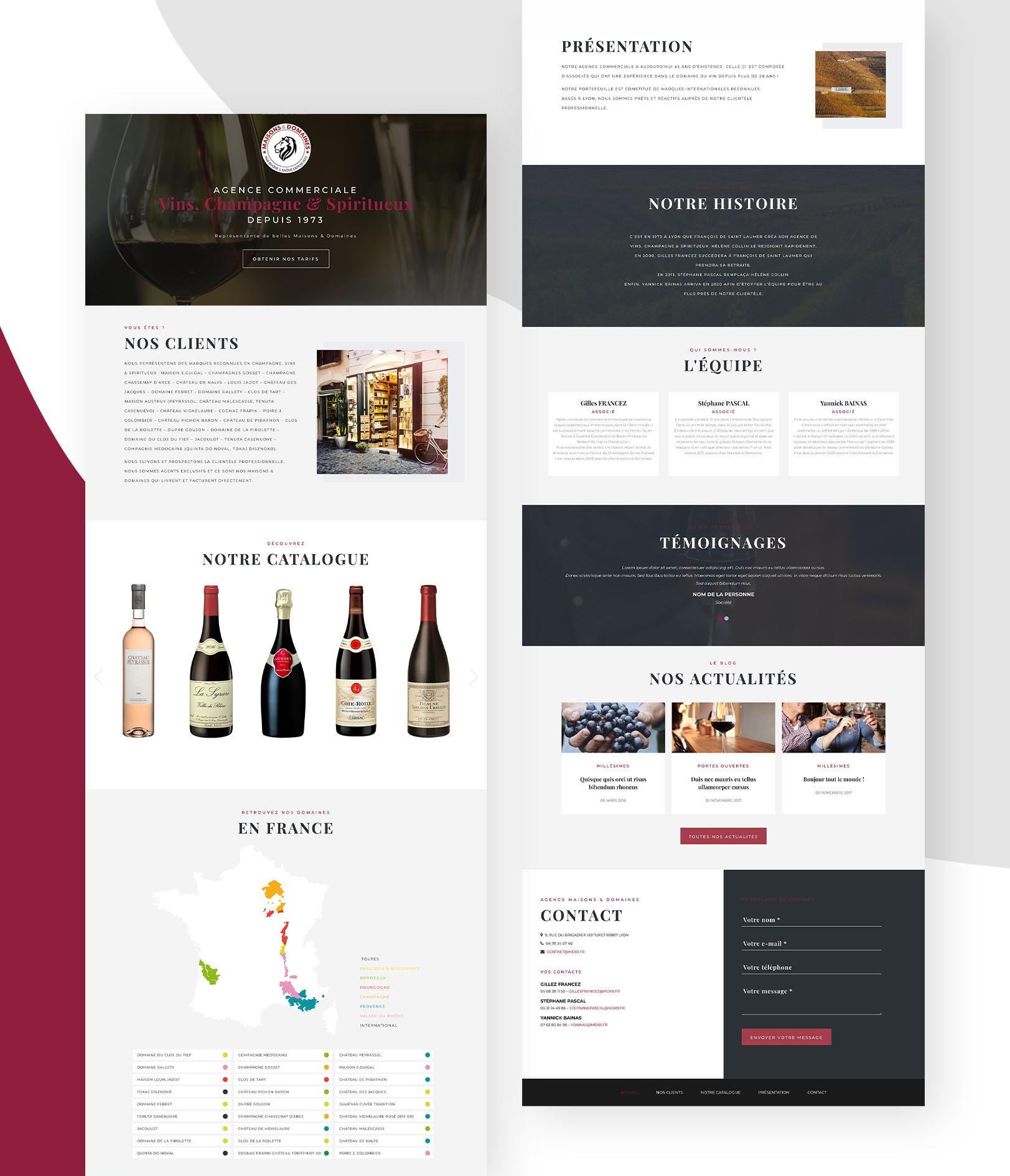 Nouveau site web de MD69