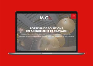 Home page du site internet MLG & Co